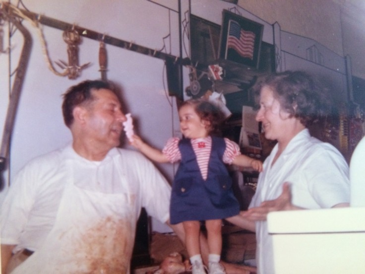 Me, my grandpa (left) and my Grandma, who we called Grandma-Ma, about 1965.